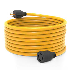 50 FT 30 Amp L14-30 4 Prong Generator Power Cord 125/250V UL Listed Copper Wire