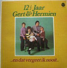 GERT EN HERMIEN - 12 1/2 JAAR GERT & HERMIEN  - LP - INSERT + POSTER 60 X 60 CM