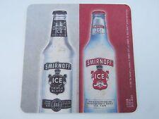 Beer Coaster <> Smirnoff Vodka <> Red & Black Labels <> Intelligent Nightlife <>