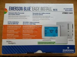 White-Rodgers Emerson Blue Thermostat 4 Heat/2Cool 1F98EZ-1441