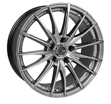 15x6.5 Enkei PFS 5x114.3 +38 Hyper Grey Rims Fits Civic Rsx Eclipse Prelude