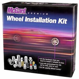 McGard 5 Lug Hex Install Kit w/Locks (Cone Seat Nut / Bulge) M12X1.5 / 3/4 Hex /