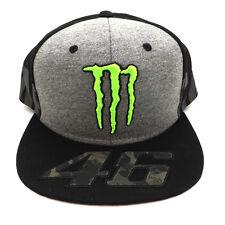 Valentino Rossi VR46 Moto GP Monster Camp Edition Flat Peak Cap Official 2017