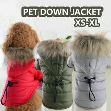 Small Dog Coats for Winter Chihuahua Pets Cat Coat Jacket Hoodie Clothes S-XL #