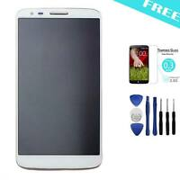 White LCD Display Touch Screen Digitizer Assembly Replacement For LG G2 D802