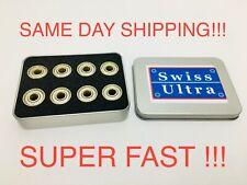 8 Pack Abec 9 Skateboard Bearings Swiss Ultra Speed Super Fast Same Day Ship