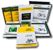 Master Service Parts Manual For John Deere 620 630 Tractor Shop Book Catalog