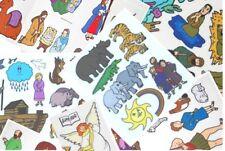 Lot of 4 Bible stories . Sunday School. 00004000  Felt /Flannel Board Bundle Free Shipping