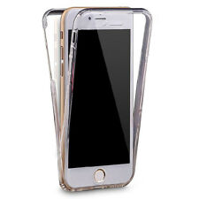 For iPhone 6 / 6s 360 Full Coverage Case Gel (Crystal Clear TPU Silicone Jelly)