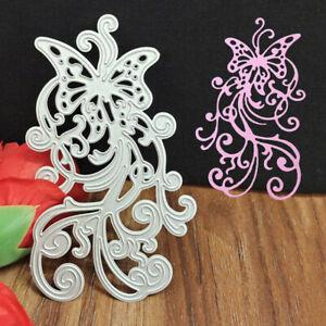 Butterfly Lace Metal Cutting Dies DIY Scrapbooking Album Paper Card Embossing