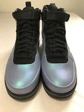 Nike Air Force 1 Foamposite Cup Light Carbon/Black AH6771-002 Size 10.5