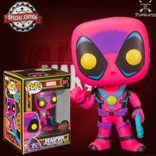 Funko Pop Marvel N°801 Deadpool (black Light Special Edition)