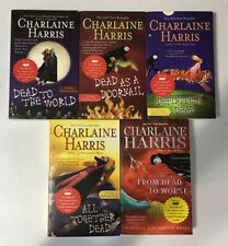 Lot 5 Charlaine Harris Sookie Stackhouse Dead Vampire Paperback Books