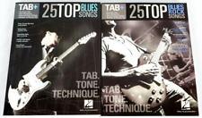25 Top Blues and Blues Rock Guitar Tab Books Hal Leonard