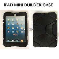 Tough Hard Rugged HEAVY DUTY Black Shockproof Case For Apple iPad Mini/1/2/3