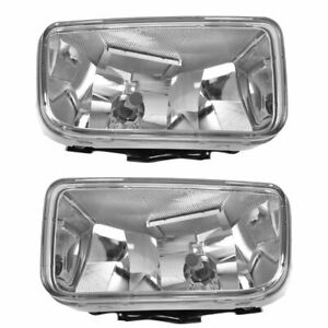 Fog Driving Lights Lamps Left & Right Pair Set for Chevy Aveo Swift Wave