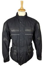 Q290 JTS Mens Textile Armoured Leather Detail Touring Motorcycle Jacket, UK 40