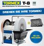 Tormek® T8 Naßschleifmaschine Schärfen Hobelmesser Stemmeisen  Drehscheibe RB180