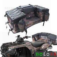 ATV Cargo Bag Rear Seat Rack Gear Storage Bag For Suzuki King Quad 400 500 750