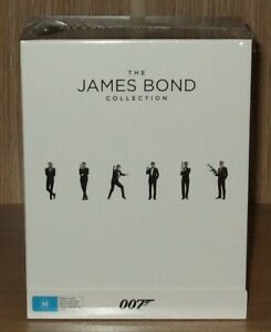 The James Bond Collection 24 Films Blu-ray 24-Disc Box Set - Brand New & Sealed