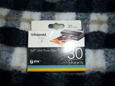 "Polaroid  Zink Photo Paper 2"" x 3"" Mobile Printer LG Zip PoGo Snap HP 30 Sheets"