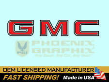 1982 1983 1984 1985 1986 1987 1988 1989 1990 GMC Truck End Tailgate Decal