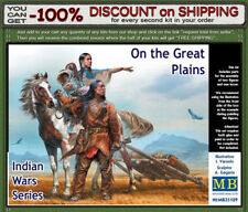 """Master Box 35189 """"On the Great Plains"""" Indian Wars Series Scale  1/35"""