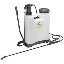 4 Gallon Backpack Lawn Garden Hand Pump Sprayer Fertilizer Insect Weed Killer