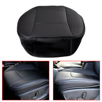 1x Universal Black  PU Leather Deluxe Car Front Seat Cover Protector Cushion New