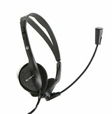 FIESTA Chat Stereo Headset Soft Ear Cushions with 2M Cable for PC & Gaming