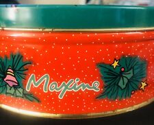 "Maxine Christmas Tin Can L ""I Baked . It's A Christmas Miracle.� Hallmark"