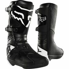 Fox Racing Comp Boots - Black/White, All Sizes
