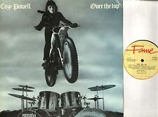COZY POWELL over the top FA 3056 uk fame reissue LP EX/VG