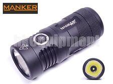Manker MK41 Cree XHP35 HI 4x AA 14500 Cool White LED Flashlight