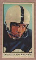 John Unitas '57 Baltimore Colts Tobacco Road series #54
