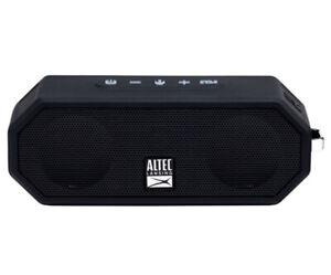 Altec Lansing IMW-449-BLK Jacket H2O 4 Bluetooth Wireless Speaker, Black