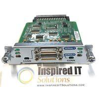 HWIC-2T - Cisco 2-Port Serial WAN Interface Card *Same Day Shipping*