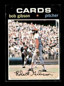1971 Topps Set Break # 450 Bob Gibson VG-EX Light Wrinkle Top Corner *OBGcards*