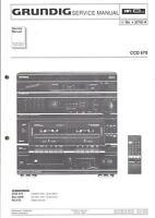 Grundig Original Service Manual  für CCD 670