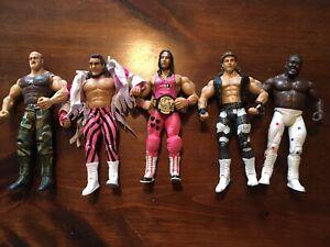 WWE Jakks Pacific Classic Superstars Action Figure Lot of 5 Vintage (Lot C)