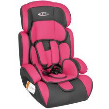 Autokindersitz Autokindersitze Kinderautositz 9-36 kg 1+2+3 pink/grau B-Ware