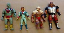 1985 Vintage Thundercats Lot of 4 | Grune the Destroyer, Mumm-ra, Tygra, Monkian