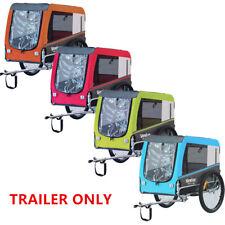 More details for veelar large pet trailer folding bike dog trailer carrier