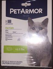 New listing PetArmor For Cats. Kills Fleas & Ticks. Free Shipping