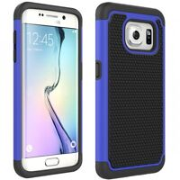 SAMSUNG GALAXY S7 EDGE SHOCK-PROOF HYBRID DUAL LAYER ARMOR DEFENDER CASE COVER