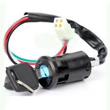 Ignition Key Switch Lock Electric 4 Wire 2 Key Motorcycle ATV Dirt Bike Scooter