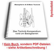 Bassgitarre E-Bass Gitarre selbst bauen - Technik Patente Patentschriften