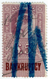 (I.B) Edward VII Revenue : Bankruptcy ï¾£5