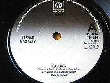 "GERALD MASTERS - FALLING   7"" VINYL"