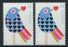WITH LOVE 2018 - MNH EMBELLISHED $1 STAMPS (B269)